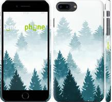 """Чехол на iPhone 8 Plus Акварельные Елки """"4720c-1032-535"""""""