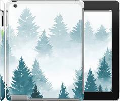 """Чохол на iPad 2/3/4 Акварельні Ялинки """"4720c-25-535"""""""