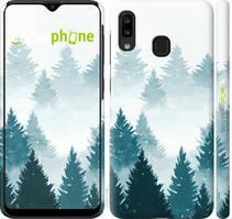 """Чохол на Samsung Galaxy A20e A202F Акварельні Ялинки """"4720c-1709-535"""""""