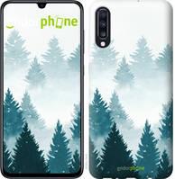 """Чехол на Samsung Galaxy A70 2019 A705F Акварельные Елки """"4720u-1675-535"""""""