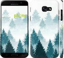 "Чохол на Samsung Galaxy A5 (2017) Акварельні Ялинки ""4720c-444-535"""