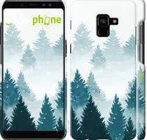 "Чохол на Samsung Galaxy A8 Plus 2018 A730F Акварельні Ялинки ""4720c-1345-535"""
