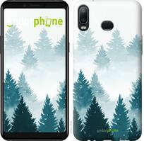 "Чохол на Samsung Galaxy A6s Акварельні Ялинки ""4720u-1604-535"""