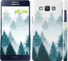 """Чехол на Samsung Galaxy A5 A500H Акварельные Елки """"4720c-73-535"""""""