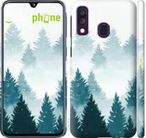 """Чехол на Samsung Galaxy M30s 2019 Акварельные Елки """"4720c-1774-535"""""""