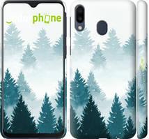 """Чохол на Samsung Galaxy M20 Акварельні Ялинки """"4720c-1660-535"""""""