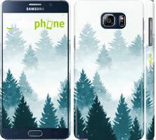 """Чехол на Samsung Galaxy Note 5 N920C Акварельные Елки """"4720c-127-535"""""""