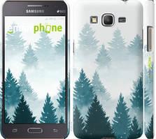 """Чохол на Samsung Galaxy J2 Prime Акварельні Ялинки """"4720c-466-535"""""""