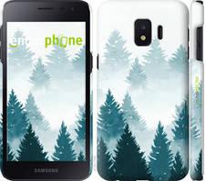 """Чехол на Samsung Galaxy J2 Core Акварельные Елки """"4720c-1565-535"""""""