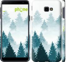 """Чехол на Samsung Galaxy J4 Plus 2018 Акварельные Елки """"4720c-1594-535"""""""