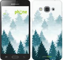 """Чохол на Samsung Galaxy J3 Pro Акварельні Ялинки """"4720u-840-535"""""""