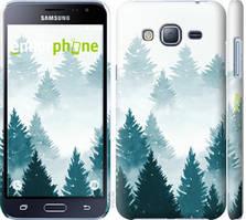 """Чохол на Samsung Galaxy J3 Duos (2016) J320H Акварельні Ялинки """"4720c-265-535"""""""