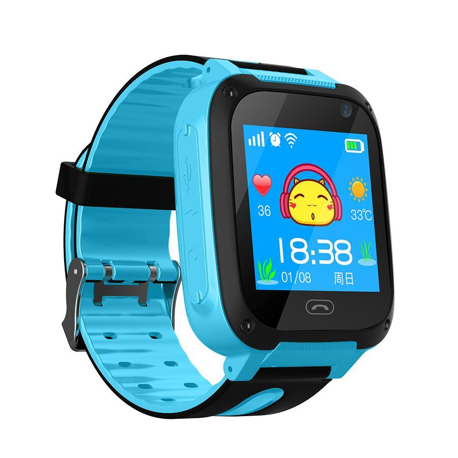Дитячі Android годинник-телефон Smart F3 smart wach (блакитні)
