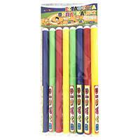 Эстафетная палочка №1 тонкая диам. 20 см длина 25 см (8шт/наб ) 0356 Бамсик