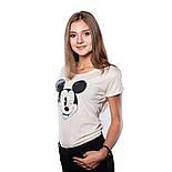 Футболка DISNEY Mickey Blinking (Микки) женская, размер S, фото 2