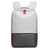 Стильный рюкзак Picano с выходом USB белый с серым