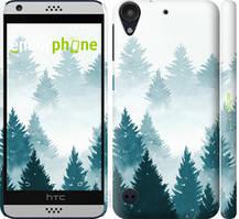 """Чохол на HTC Desire 530 Акварельні Ялинки """"4720c-613-535"""""""