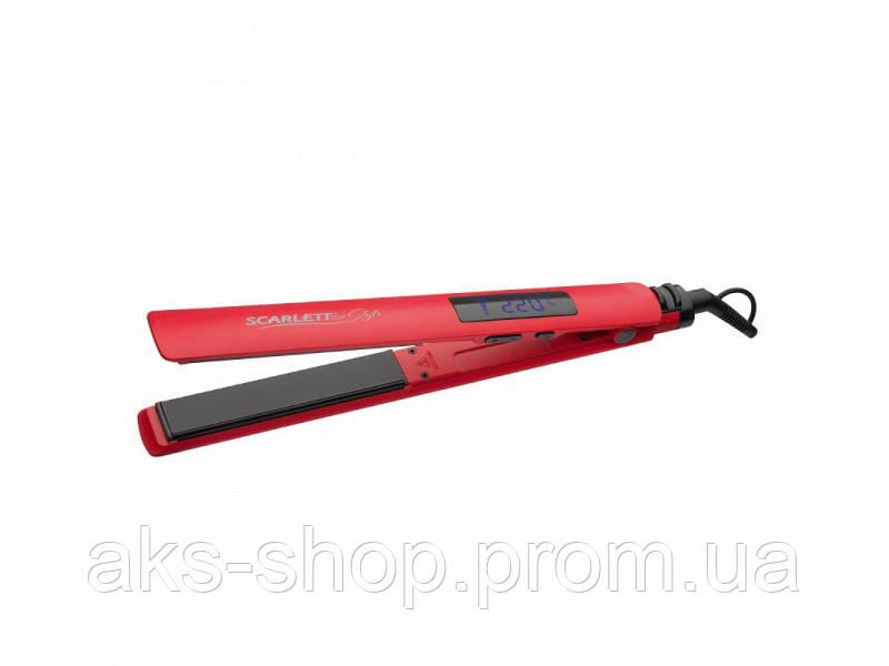 Утюжок для волос Scarlett SC-HS60T81 с керамическим покрытием, мощностью 50 Вт