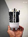 Чоловічі кросівки Nike Air Force 1 07 Mid LV8 (біло-чорні) 1367, фото 2