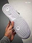 Чоловічі кросівки Nike Air Force 1 07 Mid LV8 (біло-чорні) 1367, фото 4