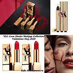 Праздничная коллекция макияжа YSL Love Shades Makeup Collection Valentine's Day 2020