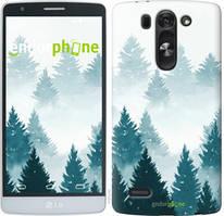"""Чохол на LG G4 Stylus H540 Акварельні Ялинки """"4720u-242-535"""""""