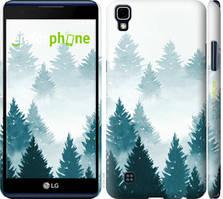 """Чохол на LG X Power K220DS Акварельні Ялинки """"4720c-398-535"""""""