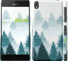 """Чохол на Sony Xperia Z3 D6603 Акварельні Ялинки """"4720c-58-535"""""""