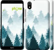"Чехол на Xiaomi Redmi 7A Акварельные Елки ""4720c-1716-535"""