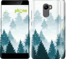 """Чехол на Xiaomi Redmi 4 Акварельные Елки """"4720c-417-535"""""""