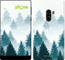 """Чехол на Xiaomi Mi MiX 2 Акварельные Елки """"4720u-1067-535"""""""