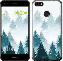 "Чехол на Huawei P9 Lite mini Акварельные Елки ""4720u-1517-535"""