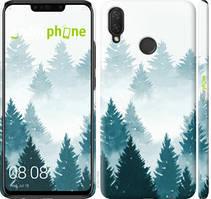 """Чехол на Huawei P Smart Plus Акварельные Елки """"4720c-1555-535"""""""