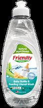 Органическое моющее средство-концентрат для детской посуды, бутылок, сосок Friendly organic 414 мл