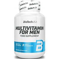 Мультивитаминный комплекс для мужчин Multivitamin For Man BioTech USA (60 табл.)