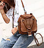 Модна сумка рюкзак трансформер, фото 5