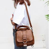 Модная сумка рюкзак трансформер, фото 3