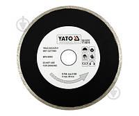 Диск алмазный отрезной YATO 180x2,2x25,4 керамика YT-6016