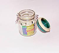 Стеклянная банка с керамической крышкой и бугельным замком на 550 мл EverGlass 15532-К