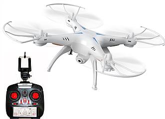Квадрокоптер c камерой Drone 1 Million летающий дрон (Wi Fi) белый