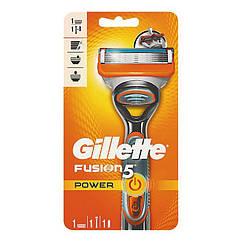 Мужской станок Gillette Fusion Power 1 кассета 01248