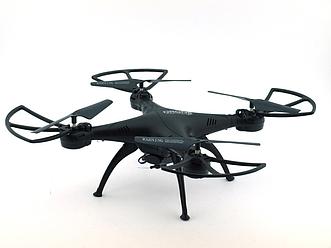Квадрокоптер  c камерой Drone 1 Million летающий дрон (Wi Fi) черный