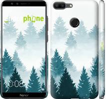 """Чохол на Huawei Honor 9 Lite Акварельні Ялинки """"4720c-1359-535"""""""