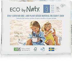 Органические подгузники Eco by Naty Размер 3 (от 4 до 9 кг) 30 шт