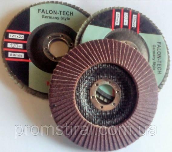 Круг лепестковый тарельчатый КЛТ 125х22 Р36