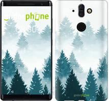 """Чехол на Nokia 8 Sirocco Акварельные Елки """"4720u-1619-535"""""""