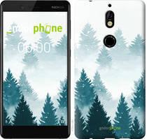 """Чехол на Nokia 7 Акварельные Елки """"4720u-1367-535"""""""