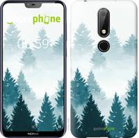 """Чехол на Nokia 6.1 Plus Акварельные Елки """"4720u-1539-535"""""""