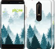 """Чехол на Nokia 6.1 Акварельные Елки """"4720c-1628-535"""""""