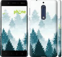 """Чехол на Nokia 5 Акварельные Елки """"4720c-804-535"""""""